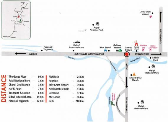 ETH Emerald Rivera Location Plan