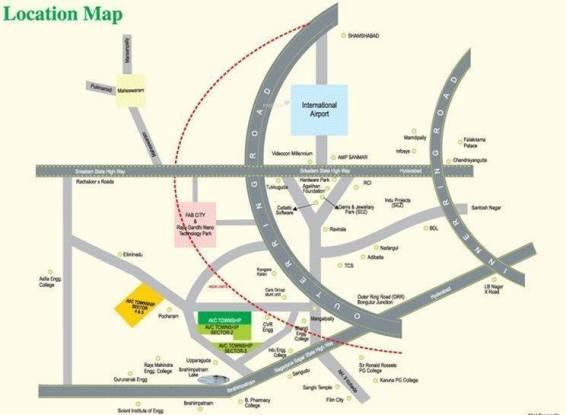 AVC Township Location Plan