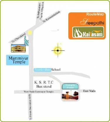 Sreepathi Kailasam Location Plan