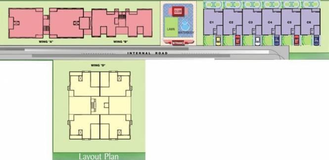 Yugal Willed Ways Villa Layout Plan