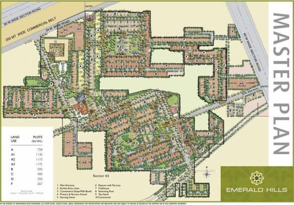 Emaar Emerald Floors Select Master Plan