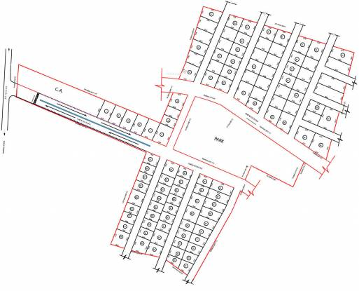 Red Akshaya The Fortune Gardens Layout Plan