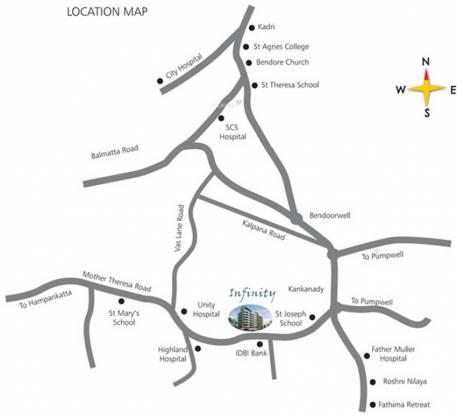 Rohan Infinity Location Plan