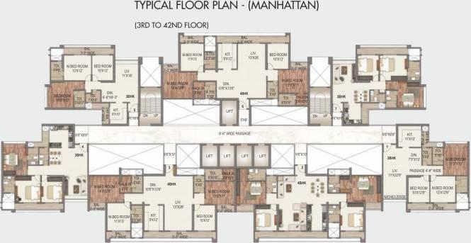 Paradise Sai World City Cluster Plan