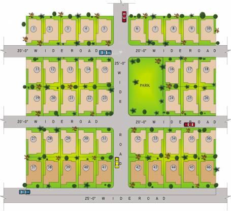 Indo Harekrushan Villa Layout Plan