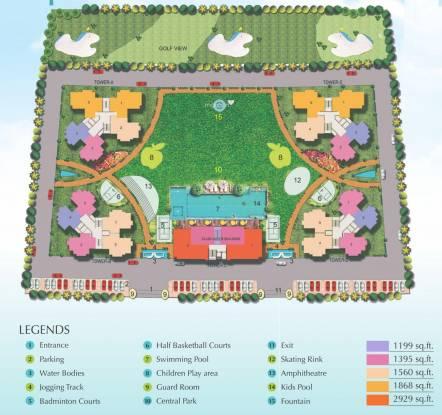 Soho Misty Heights Layout Plan