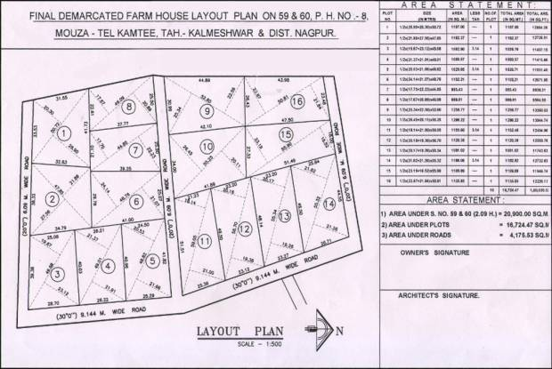 Neel Royal Rejoice Resort Layout Plan