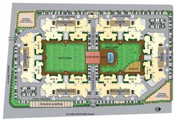 Mahindra Royale Site Plan