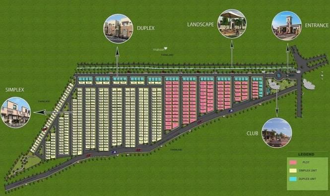 Shri Radha Florence Layout Plan