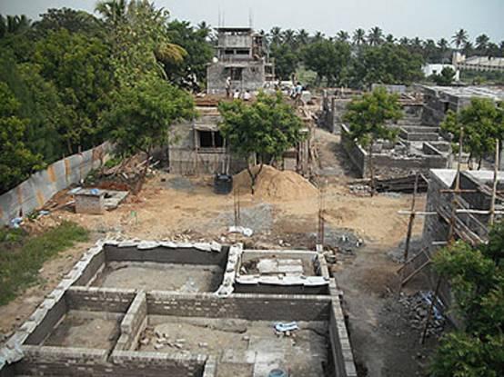 Covai Serene Idigarai Villa Construction Status