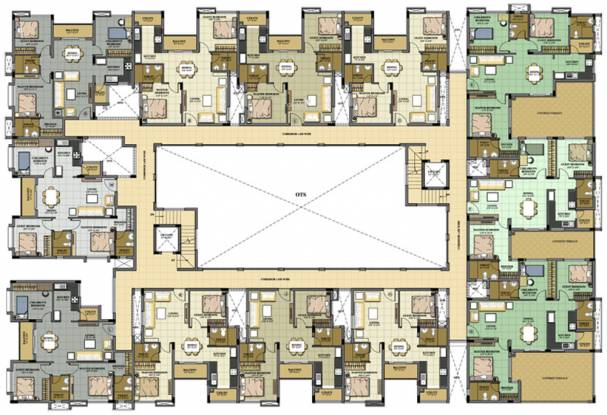 Rakindo Orchids Cluster Plan