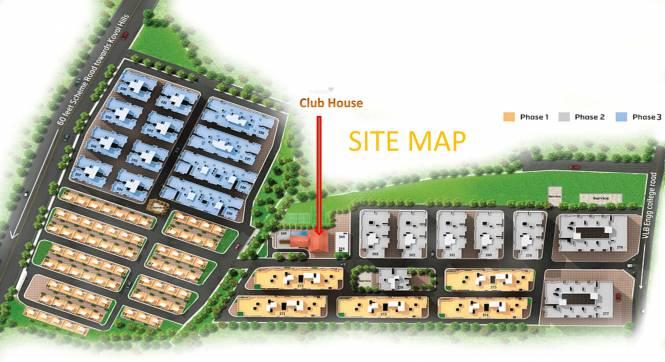 Rakindo Orchids Site Plan
