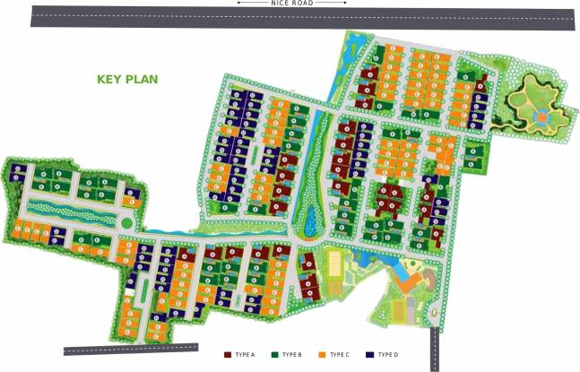 Purva The Sound of Water Layout Plan