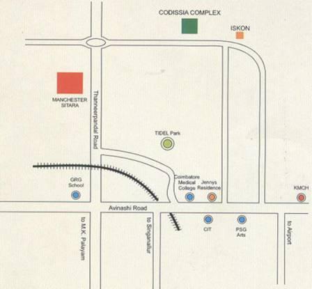 Cotton Manchester Sitara Location Plan