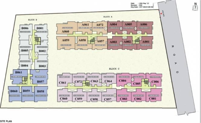 Cotton Manchester Sitara Site Plan