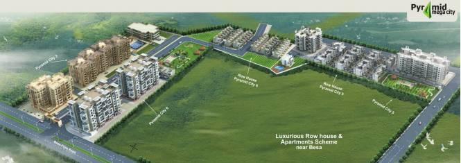 Pyramid Pyramid City 5 Villa Master Plan