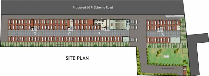 Isha Armonia Site Plan