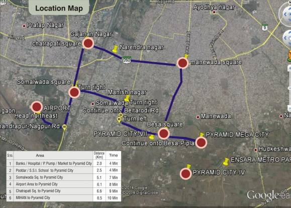 Pyramid City 6  Location Plan