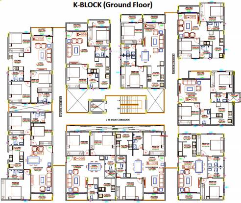 Ksr Basil Apartments Cluster Plan