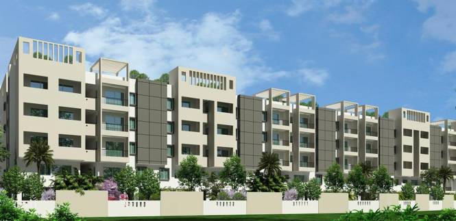 Ksr Basil Apartments Elevation