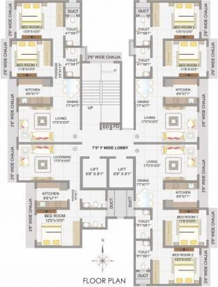 Sidhivinayak Opulence Cluster Plan