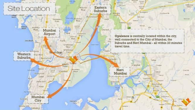 Sidhivinayak Opulence Location Plan