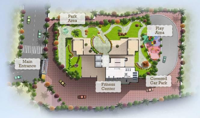 Sidhivinayak Opulence Site Plan