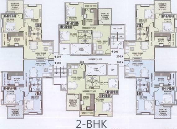 Om Shivam Shiv Elite Cluster Plan