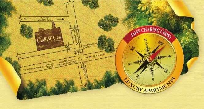 Jain Charing Cross Location Plan