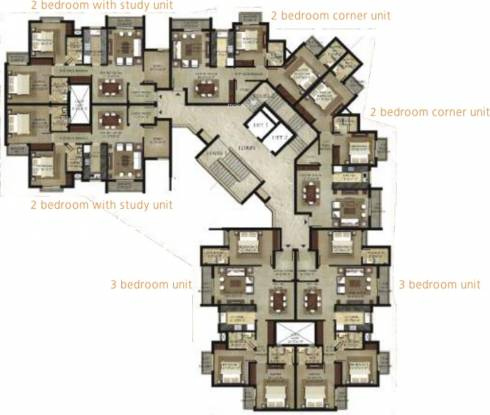 Shalimar garden bay apartment in mubarakpur lucknow for Backyard apartment floor plans