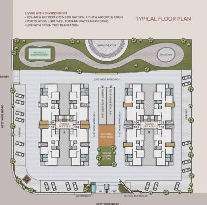 Yashasvi Siddhi Ellipse Cluster Plan
