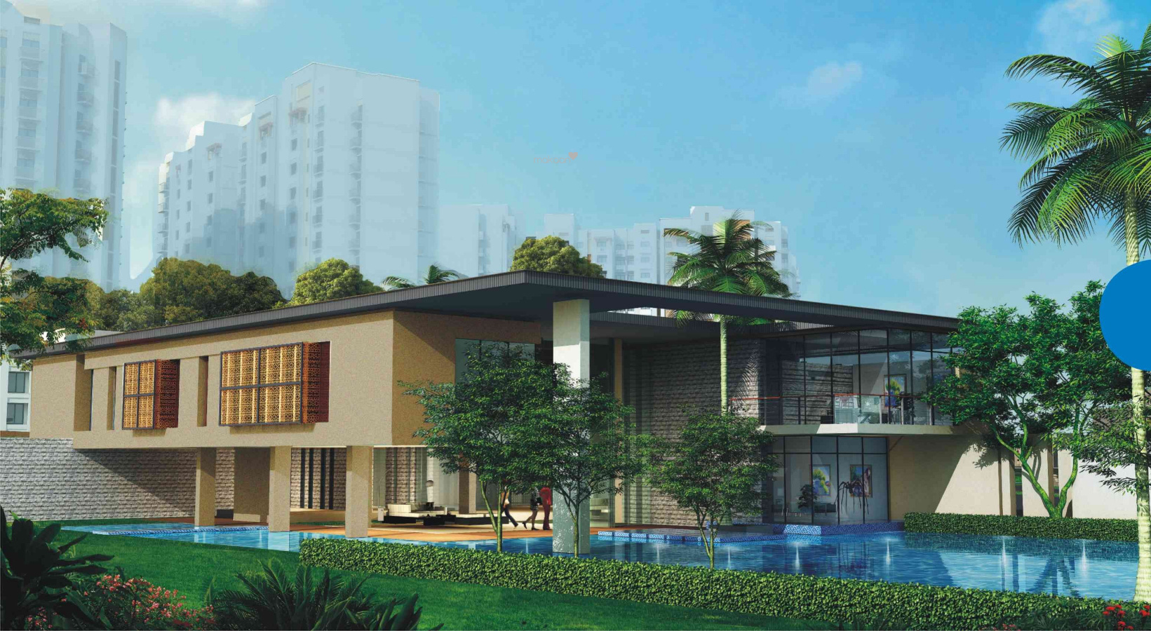 1077 Sq Ft 2 BHK 2T NorthEast Facing Villa For Sale At Rs 57.00 Lacs In Garden  Bay Villa In Mubarakpur, Lucknow