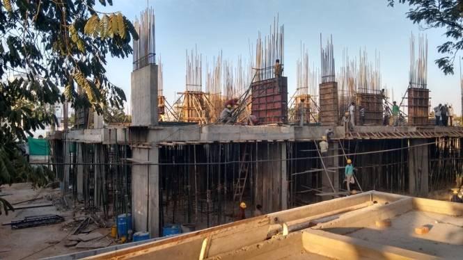 Aaryan Opulence Construction Status