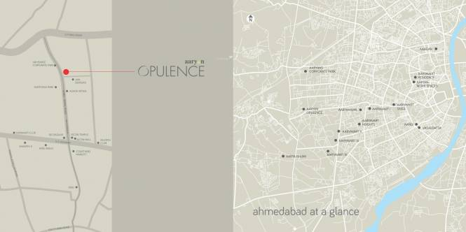 Aaryan Opulence Location Plan