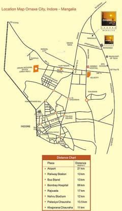 Omaxe City 2 Plots Location Plan