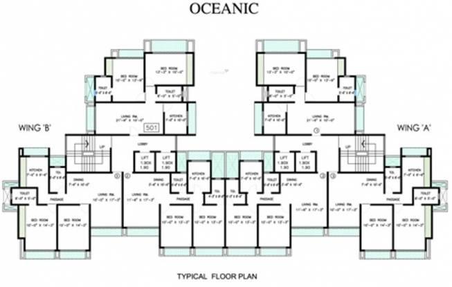 Ahuja Oceanic Cluster Plan