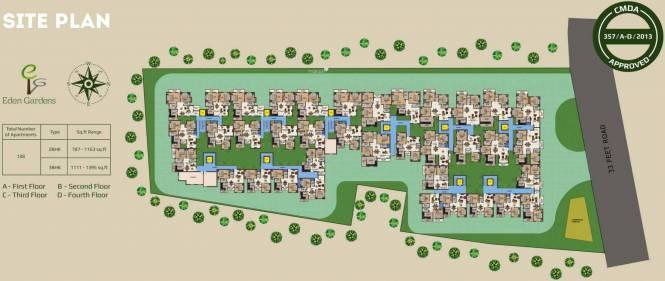 Evocon Eden Gardens Site Plan