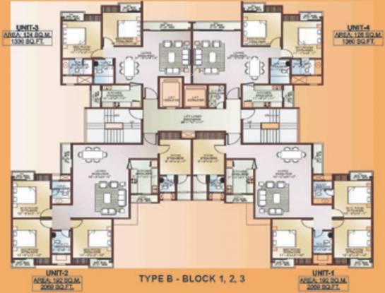 Ansal Celebrity Woods Cluster Plan