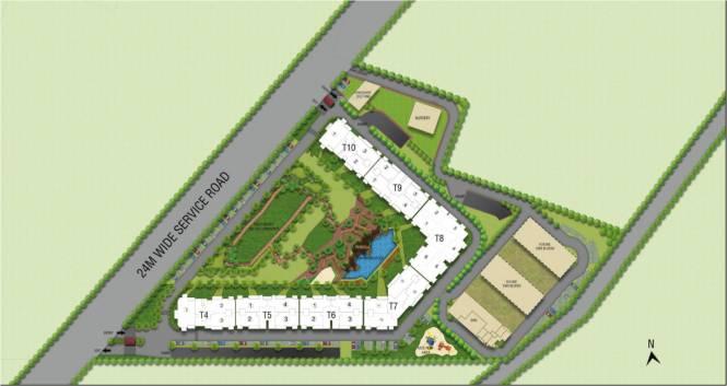 Indiabulls One Indiabulls Layout Plan