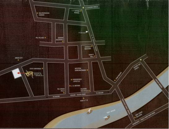 Sat Aria Location Plan