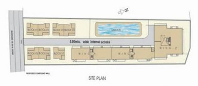 Poonam Paradise Villas Site Plan