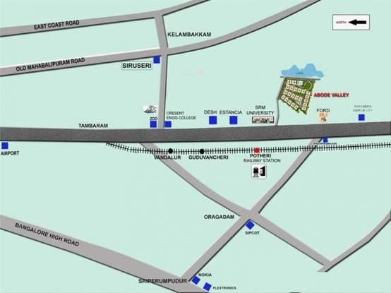 Lancor Abode Valley Location Plan