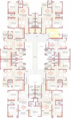 Sunil Nilgiri Apartment Cluster Plan