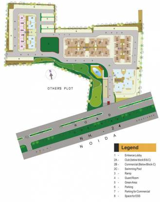 Gaursons Green Vista Layout Plan
