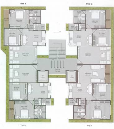 Raghuvir Symphony Cluster Plan
