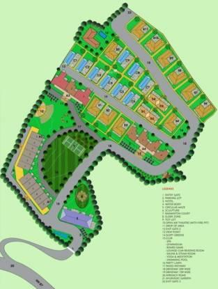 Exalter Himalaya View Apartment Site Plan