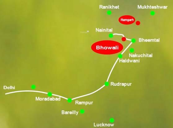 Barwala Devashish Homes Location Plan