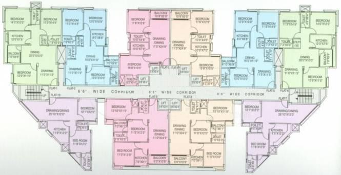Neelanchal Krishna Plaza Cluster Plan