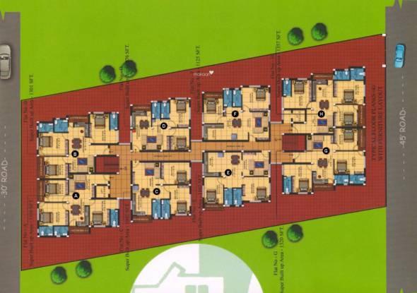 Surya Varati Estcon Pvt Ltd Sukanti Devi Enclave Site Plan
