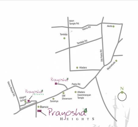 Labh Prayosha Heights Location Plan